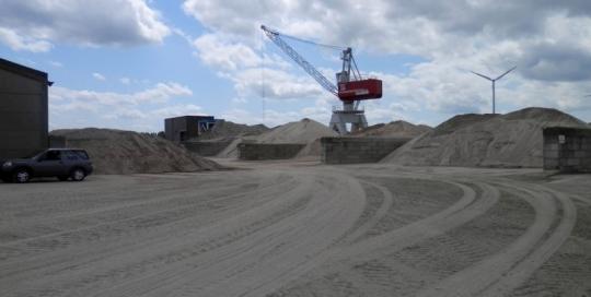 Boom – Opmeting stock zand