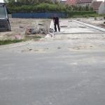 Bredene - Oude Tramstraat tijdens