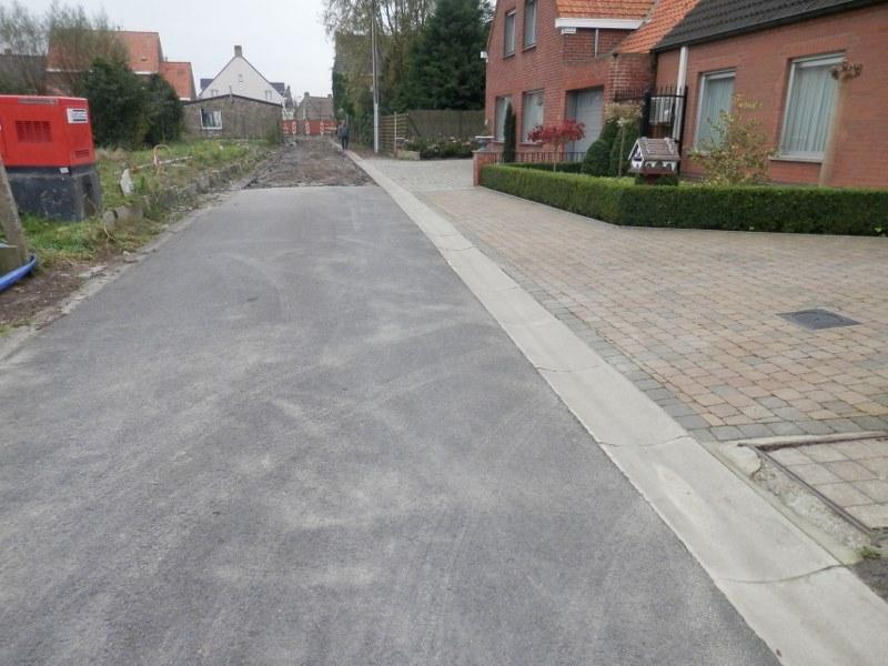 Ichtegem - Oude Oostendeweg tijdens