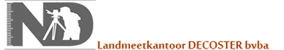 Landmeetkantoor Decoster bvba Logo